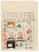 Basquiat Untitled (Grid), 1981