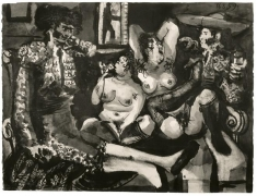 Pablo Picasso, Courtisanes et Toreros, August 16-17, 1959