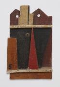 Joaquín Torres-García, Objet plastique (Barco abstracto) [Plastic Object (Abstract Ship)], 1928