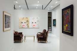 Install shot of Impressionist, Modern and Postwar Masters
