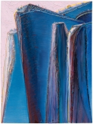 "Wayne Thiebaud, ""Blue Ridge Mountain,"" 2010"