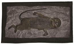 Lucian Freud, Dead Monkey, 1950