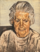 Lucian Freud, The Painter's Mother, 1972