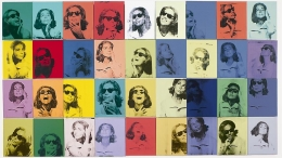Andy Warhol, Ethel Scull 36 Times, 1963