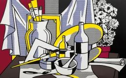Roy Lichtenstein, Still Life with Palette, 1972
