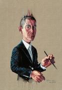 Zeng Fanzhi, Self-Portrait, 2008