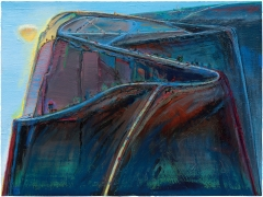 "Wayne Thiebaud, ""Mountain Roads,"" 2010-13/2019"