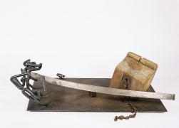 Mark di Suvero, Silver Bow, 1962