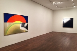 Installation view of Postwar New York: Capital of the Avant-Garde at Acquavella Galleries from July 5 - September 30, 2016.