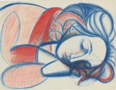 Portrait de femme endormie, III [Portrait of Sleeping Woman, III]