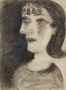 Portrait de femme (Dora Maar) [Portrait of a Woman (Dora Maar)]