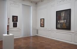 Installation view of The Worlds of Joaquín Torres-García