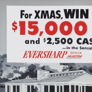 James Rosenquist, Win a New House This Christmas (Contest), 1964