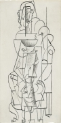 Femme assise [Seated Woman]