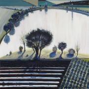 Wayne Thiebaud, River Pool, 1997