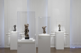 """Installation view of Jean Dubuffet """"Anticultural Positions"""""""