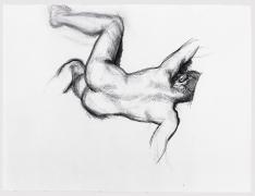 Lucian Freud, Naked Man on a Sofa, 1989