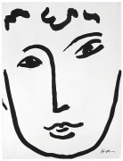 Henri Matisse, Full Face, 1952