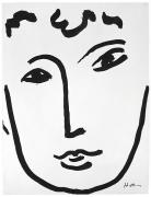 Henri Matisse, Full Face, 1952