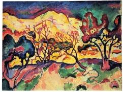 Georges Braque, Landscape at L'Estaque, 1906