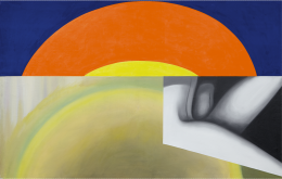 James Rosenquist, Brighter Than the Sun, 1961