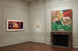 Installation view of James Rosenquist: His American Life at Acquavella Galleries from October 25 - December 7, 2018.