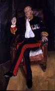 Lucian Freud, The Brigadier, 2003-4