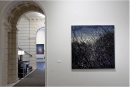 Installation view of Zeng Fanzhi at Acquavella Galleries from April 1 - May 14, 2009.
