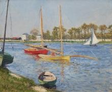 Gustave Caillebotte La Seine à Argenteuil, 1882