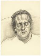 Lucian Freud, Head of a Man, 1986