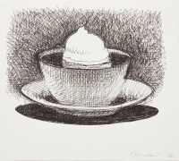 Wayne Thiebaud Cappuccino, n.d.