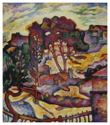 Georges Braque, The Great Trees, L'Estaque, 1906-07