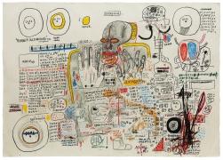 Jean-Michel Basquiat, Untitled (Estrella), 1985