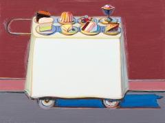 Wayne Thiebaud, Cafe Cart, 2012