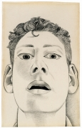 Lucian Freud, Startled Man: Self-Portrait, 1948