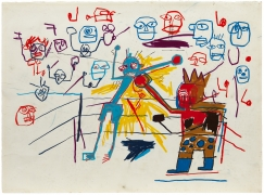 Jean-Michel Basquiat, Untitled (Boxing Ring), 1981