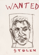 Lucian Freud, Wanted, 2001