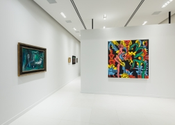 Installation view of Impressionist, Modern and Postwar Masters