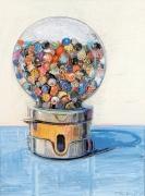 Wayne Thiebaud, Gumball Machine, 1977
