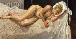 Lucian Freud, Ria, Naked Portrait, 2006-7