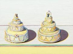Two Wedding Cakes