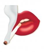Tom Wesselmann, Smoker #3 (Mouth #17), 1968