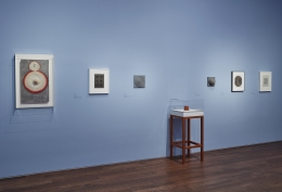 Installation view of Hesse / Wilke