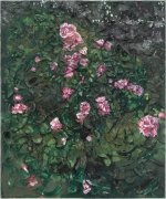 Julian Schnabel, Rose Painting (Near Van Gogh's Grave) I