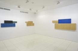 Installation view, Grear Patterson:PanzersandTigers,Vito Schnabel, New York, 2014.