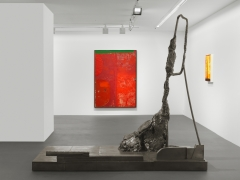 Installation view, Sterling Ruby, MIX PIZ, Vito Schnabel Gallery, St. Moritz, 2017