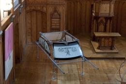 Installation view, Vahakn Arslanian,St. Moritz Art Masters,Eglise Au Bois, St. Moritz, 2011