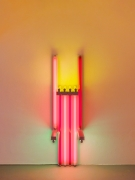 Dan Flavin untitled (to Lucie Rie, master potter) 1mmm, 1990