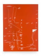 Jeff Elrod Untitled (Orange), 2003