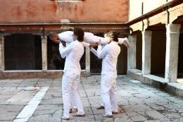 Installation view,Terence Koh,tell it like it is,Sovrano Militare Ordine di Malta, Gran Priorato, Venice, Italy, 2011